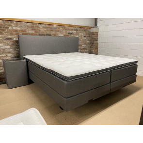 King Limited Edition Elektrische Boxspring INCL NACHTKASTEN